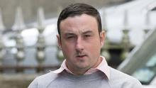 Accused: Aaron Brady (pictured) denies murdering Detective Garda Adrian Donohoe at a credit union in Co Louth in 2013. Photo: Ciara Wilkinson