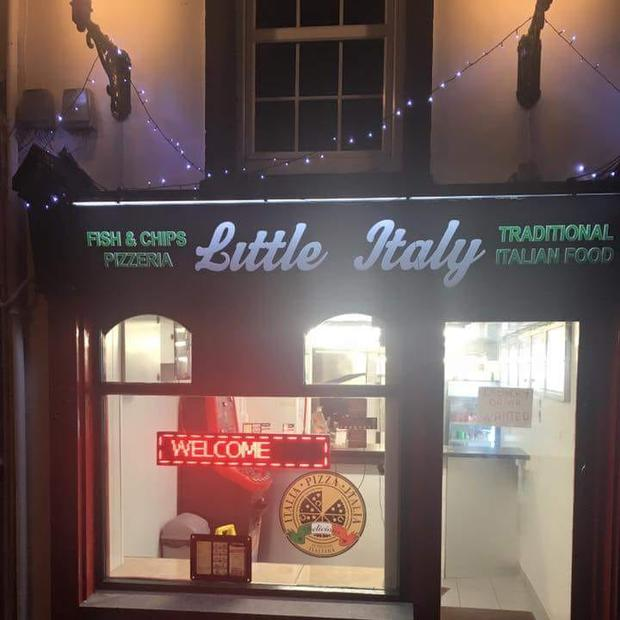 Little Italy chipper Photo: Little Italy's Facebook
