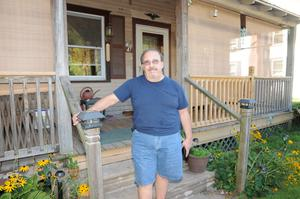Homeowner John Anthony Trallow, member of Shale Justice
