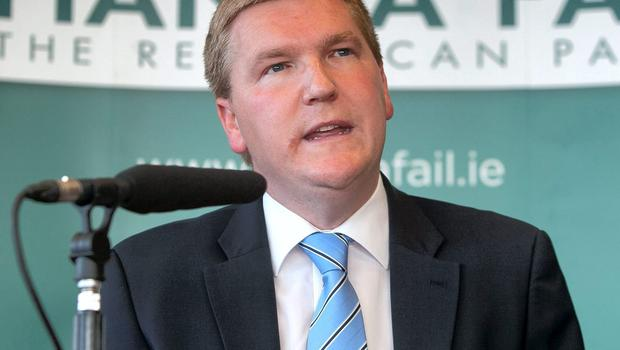 Fianna Fail's finance spokesperson Michael McGrath was the subject of criticism from former IBRC CEO Mike Aynsley