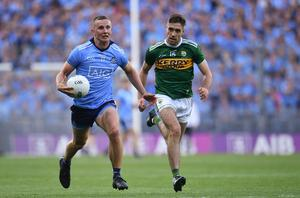 A simulated All-Ireland football championship sees Dublin come out on top yet again. Photo by Piaras Ó Mídheach/Sportsfile