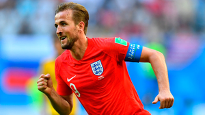 Harry Kane during England's third place play off match against Belgium. Photo: Dylan Martinez/Reuters