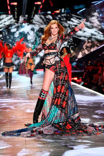 Alexina Graham walks the runway during the 2018 Victoria's Secret Fashion Show at Pier 94 on November 8, 2018 in New York City.  (Photo by Dimitrios Kambouris/Getty Images for Victoria's Secret)