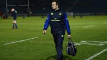 WARNING: Dr Jim O'Donovan, in his role as Leinster team doctor in 2017. Photo: Stephen McCarthy/Sportsfile