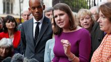 Britain's Liberal Democrat leader Jo Swinson. AP Photo/Frank Augstein