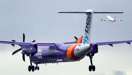 Flybe will return to the skies after administrators said they had completed the sale of the collapsed airline (Steve Parsons/PA)