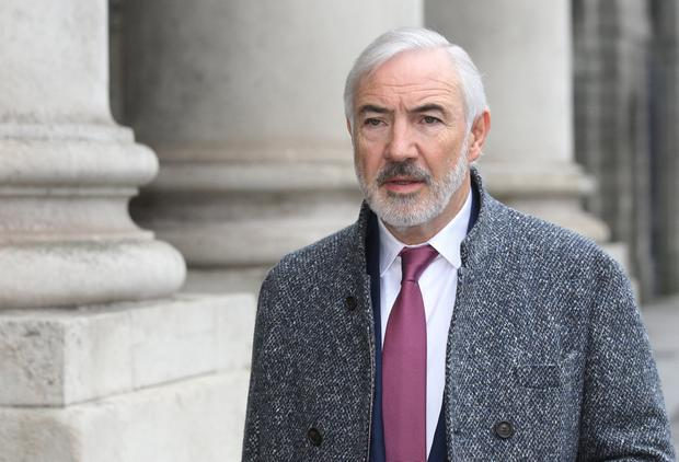 'Indigent': Seán Dunne claimed he was too poor to pay legal bill. Photo: Collins Courts