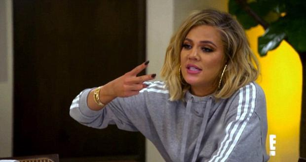 Khloe in the new trailer for Keeping Up With The Kardashians