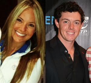 Erica Stoll (left) and Rory McIlroy (right) have been dating for six months