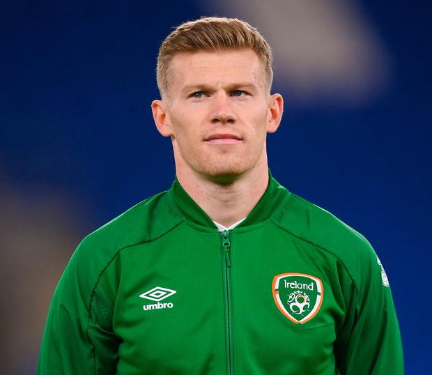 James McClean has re-joined Wigan. Photo: Stephen McCarthy/Sportsfile