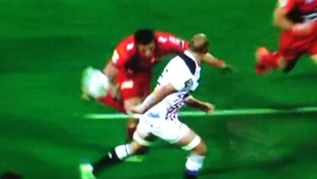Sergio Parisse produced a moment of magic last night