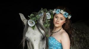 Viv Buckley - 'A Girl and Her Horse'