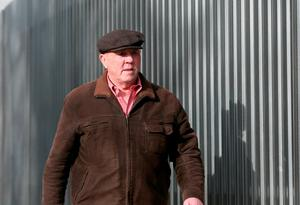 Alleged former IRA chief Thomas 'Slab' Murphy arrives at the Special Criminal Court in Dublin where he will be sentenced today for tax evasion. Niall Carson/PA Wire