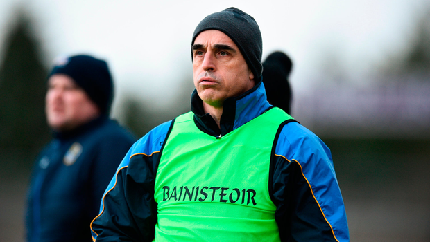 "Cunningham: ""You'd always be happy with a win but it's a work in progress."" Photo by David Fitzgerald/Sportsfile"