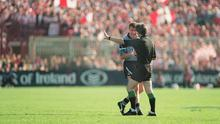 Charlie Redmond was sent off in the 1995 All-Ireland final - but it took him a few minutes to realise. Picture credit; David Maher / SPORTSFILE