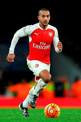 Arsenal forward Theo Walcott feels the title race the Gunners are currently leading is shaping up as the most exciting yet. Photo: Adam Davy/PA Wire.
