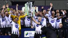 Dundalk celebrate their title win last year