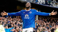 Everton's Romelu Lukaku celebrates scoring his side's fourth goal against Hull.  Photo: Martin Rickett/PA