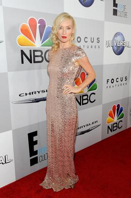 Actress Victoria Smurfit attends the Universal, NBC, Focus Features, E! sponsored by Chrysler viewing and after party with Gold Meets Golden held at The Beverly Hilton Hotel