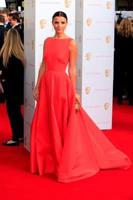LONDON, ENGLAND - MAY 10: Lucy Mecklenburgh attends the House of Fraser British Academy Television Awards (BAFTA)  at Theatre Royal on May 10, 2015 in London, England.  (Photo by John Phillips/Getty Images)