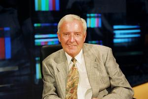 One of Ireland's best-loved broadcasters, Bill O'Herlihy, has died aged 76. He was the anchor for decades on some of RTE's flagship soccer and sports coverage, and a major player in public relations. RTE said he died peacefully at home this morning (RTE/PA Wire)