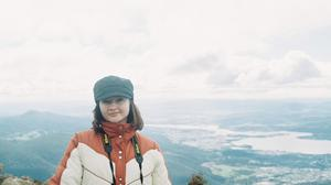 Seana Henry (29) from Co Mayo pictured on Mt Wellington, Hobart.