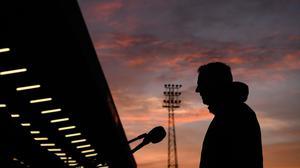 11 September 2020; Waterford manager John Sheridan following the SSE Airtricity League Premier Division match between Bohemians and Waterford at Dalymount Park in Dublin. Photo by Stephen McCarthy/Sportsfile