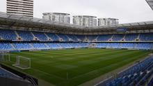 The Tehelné pole stadium in Bratislava, where Ireland are due to play Slovakia in their Euro 2020 playoff on March 26