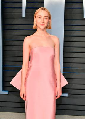 Saoirse Ronan attends the 2018 Vanity Fair Oscar Party hosted by Radhika Jones at Wallis Annenberg Center for the Performing Arts on March 4, 2018 in Beverly Hills, California.  (Photo by Dia Dipasupil/Getty Images)
