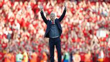 It's almost exactly two years since Arsene Wenger's Arsenal departure was confirmed. Photo by Tom Jenkins