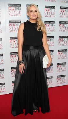 Louise O Reilly tonight  on the Red Carpet at The Peter Mark VIP Style Awards 2015 at The Marker Hotel,Dublin. Pictures Brian McEvoy