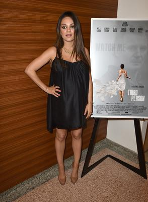 """Actress Mila Kunis attends the premiere of Sony Picture Classics' """"Third Person"""" at Linwood Dunn Theater at the Pickford Center for Motion Study on June 9, 2014 in Hollywood, California.  (Photo by Kevin Winter/Getty Images)"""