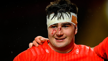 John Hodnett won the man of the match award on debut just before the lockdown started, this abrasive flanker hails from Rosscarbery and impressed in last year's U-20 Grand Slam. Photo by Ramsey Cardy/Sportsfile