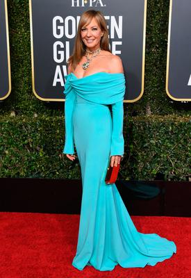 Allison Janney attends the 76th Annual Golden Globe Awards at The Beverly Hilton Hotel on January 6, 2019 in Beverly Hills, California.  (Photo by Jon Kopaloff/Getty Images)