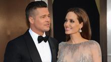 Brad Pitt and actress Angelina Jolie