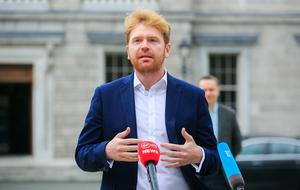 TD Gary Gannon said there is a need to move teachers and students up in the priority list for the vaccine. Photo: Gareth Chaney/Collins
