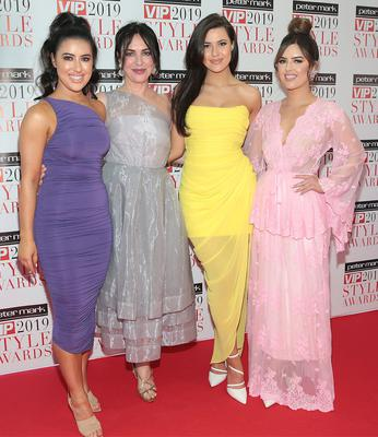 Lottie Ryan, Morah Ryan, Babette Ryan and Bonnie Ryan at The Peter Mark VIP Style Awards 2019 at the Marker Hotel, Dublin. Picture: Brian McEvoy