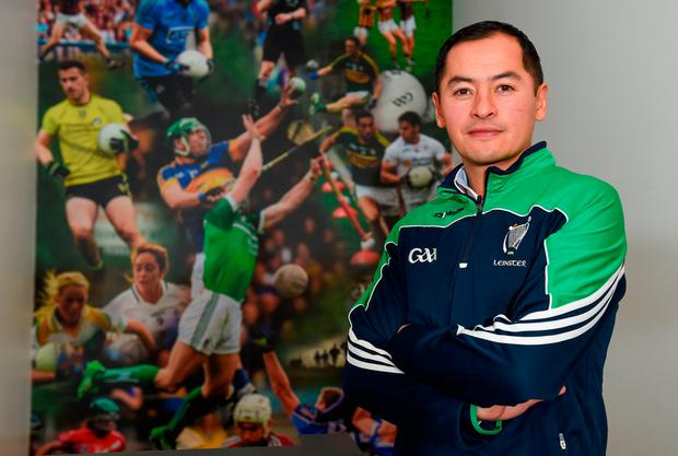 Jason Sherlock insists everyone in that photo gives their time freely. Photo by Cody Glenn/Sportsfile