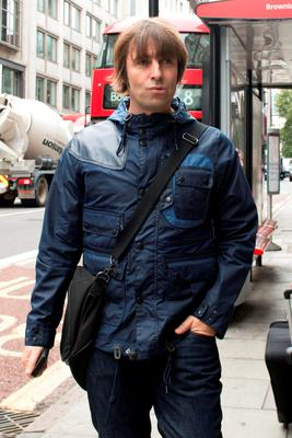 Singer Liam Gallagher arrives at the Central Family Court in London where he his embroiled in a family court dispute with ex-wife Nicole Appleton.  Picture: Anthony Devlin/PA Wire
