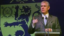 Prince Andrew and Virginia Giuffre: Andrew has shown himself to be, at the very least,  'a prat'. Picture: Reuters