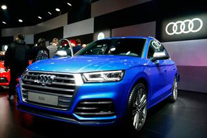 Audi SQ5 car is seen during the 87th International Motor Show at Palexpo in Geneva, Switzerland, March 6, 2017. REUTERS/Arnd Wiegmann