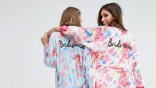 Bride and bridesmaid robes from ASOS