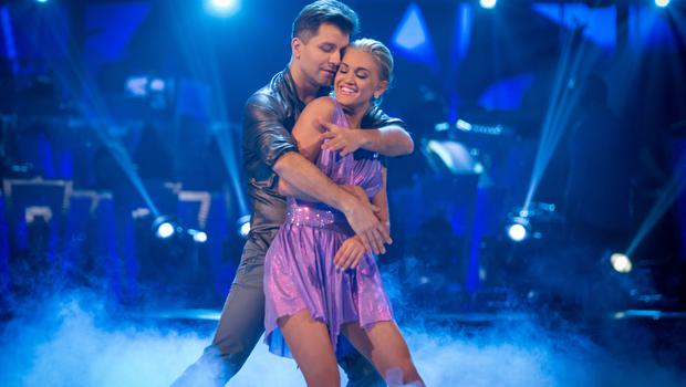Ashley Roberts and Pasha Kovalev on Strictly (Guy Levy/PA)
