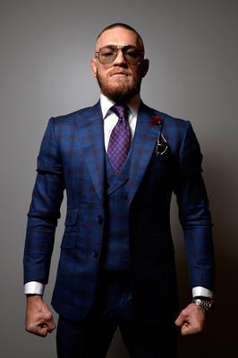 Knocked down: Mixed martial arts star Conor McGregor lost in his bid to trademark his name for clothing in the EU. Photo: Getty