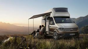 HAPPY HOLIDAYS: VW's Grand California campervan