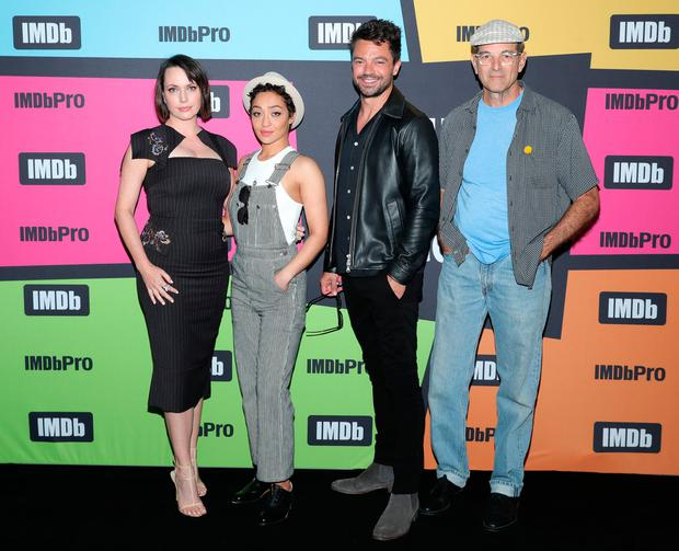 Julie Ann Emery, Ruth Negga, Dominic Cooper and and Mark Harelik attend the #IMDboat at San Diego Comic-Con 2019: Day Two at the IMDb Yacht on July 19, 2019 in San Diego, California. (Photo by Rich Polk/Getty Images for IMDb)