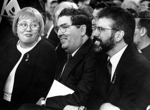 John Hume with Mo Mowlam and Gerry Adams