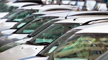 In reverse: Dealers contacted by the Irish Independent report sales have fallen by between 60pc and 90pc this month
