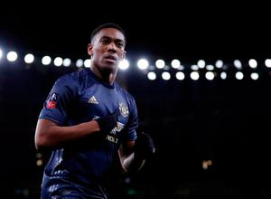 Manchester United confirmed a new five-year contract for Anthony Martial. Photo: REUTERS