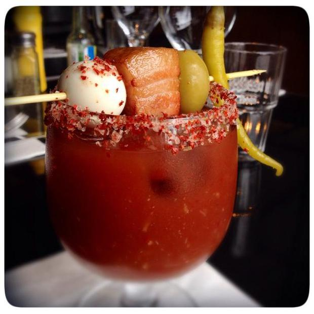 Bloody Mary at Dillingers